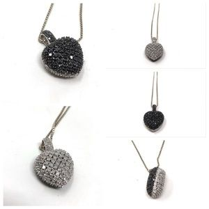 Jewelry - 🆕 2ct genuine diamonds💎 2-in-1 sterling necklace
